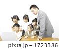 小学生 幼児 先生の写真 1723386