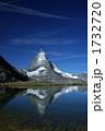 リッフェル湖 マッターホルン 岩山の写真 1732720