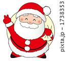 聖夜 サンタクロース サンタのイラスト 1738353