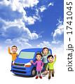 家族でドライブ 1741045