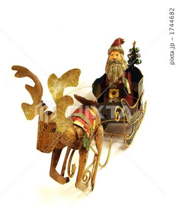 出発サンタさんの写真素材 [1744682] - PIXTA