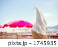 デザート 冷菓 ソフトクリームの写真 1745985