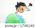 会社員 クレイアート 粘土人形の写真 1746140