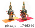 門松 縁起物 正月飾りの写真 1746249