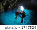 青の洞窟 洞窟 海の写真 1747524