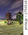 歴史的建造物 五重塔 搭の写真 1750516