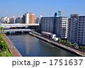 住宅街 川岸 マンションの写真 1751637