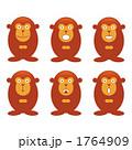 申 さる 猿のイラスト 1764909