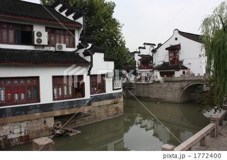 中国の古い町・上海・嘉定 1772400