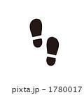 靴あとのイラスト 1780017