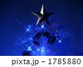 クリスマスツリー イルミネーション 星の写真 1785880