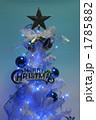クリスマスツリー イルミネーション 星の写真 1785882
