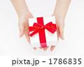 プレゼントを渡す女性の手の写真 1786835
