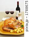 丸焼き 西洋料理 チキンの写真 1788675