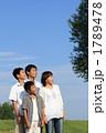 家族 男の子 見上げるの写真 1789478