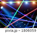 背景 レーザー光線 ビームのイラスト 1806059