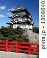 夏の弘前城 1808640