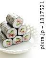 海苔巻き お寿司 巻きすしの写真 1817521