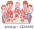 三世代 団らん 家族のイラスト 1824446