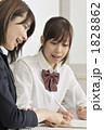 教師 教える 閃くの写真 1828862