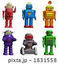 カラフルなロボット6体 1831558