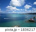 真っ青な空と海 1836217