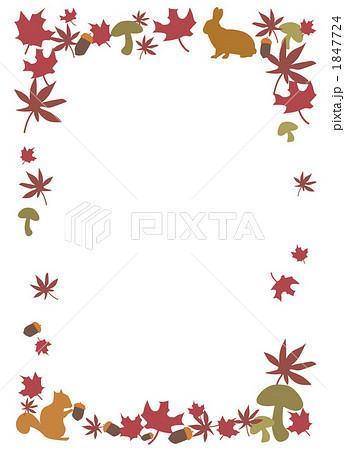カード メッセージカード 素材 無料 枠 : ... 2のイラスト素材 [1847724] - PIXTA
