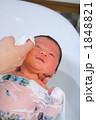 新生児 入浴 バスタイムの写真 1848821