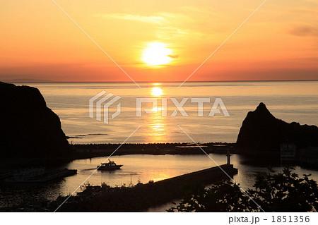 夕陽台からの夕日 1851356