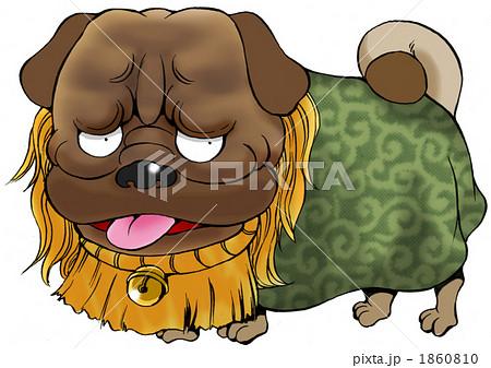 土佐犬のイラスト素材 1860810 Pixta