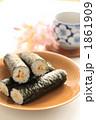 海苔巻き お寿司 巻きすしの写真 1861909