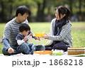 ピクニック 家族 人物の写真 1868218