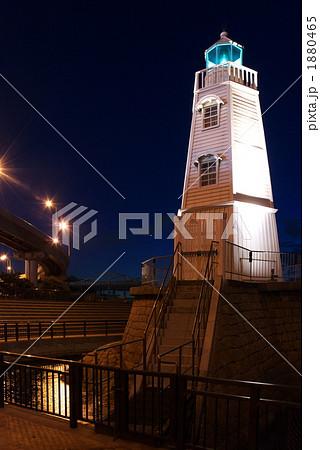 旧堺灯台ライトアップ 1880465