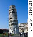 斜塔 ピサの斜塔 鐘楼の写真 1890123