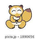 タヌキ 狸 動物のイラスト 1890656