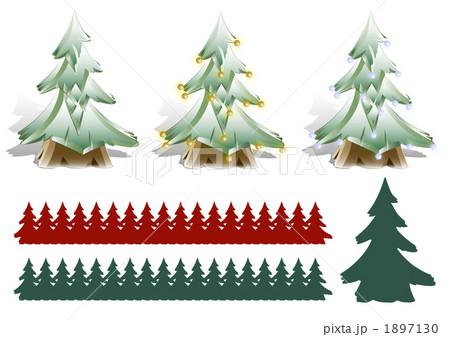 もみの木のイラスト素材 1897130 Pixta