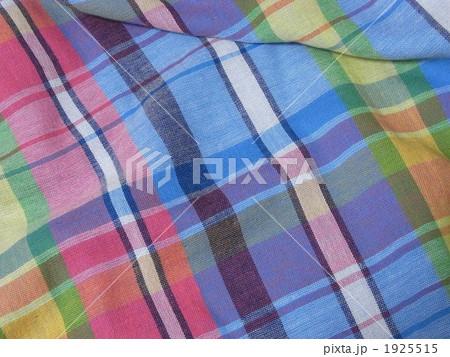 チェック 布 ガーゼの写真素材 [1925515] - PIXTA