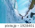 雪景色 氷壁 雲竜渓谷の写真 1928401