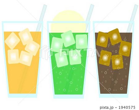 いろいろなジュースのイラスト素材 1940575 Pixta