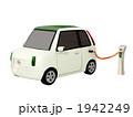 エコカー 電気自動車 充電のイラスト 1942249
