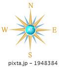 地球とコンパス 1948384