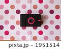 トイカメラとランチョンマット(水玉) 1951514
