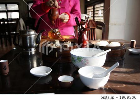 中国茶館の写真素材 [1969506] - PIXTA