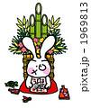 元旦 門松 正月飾りのイラスト 1969813