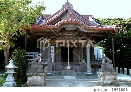 海の眺めの美しい小動神社を訪れて 1971868