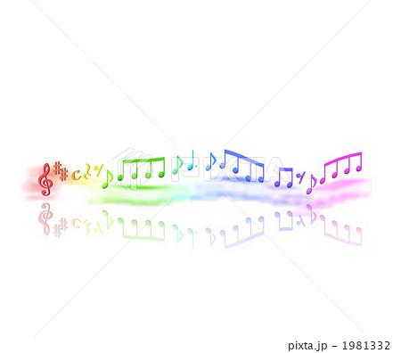 音楽音符の踊りのイラスト素材 1981332 Pixta