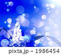 クリスマスツリー イブ 聖夜のイラスト 1986454