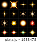 スター16パターン 黒バック 1988478