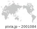 ドット世界地図 2001084