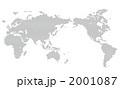 ドット世界地図 2001087